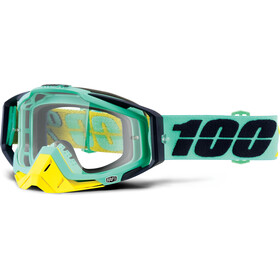 100% Racecraft Anti Fog Clear Masque, kloog